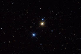 31 Cygni: Part of a Stunning Optical Triple
