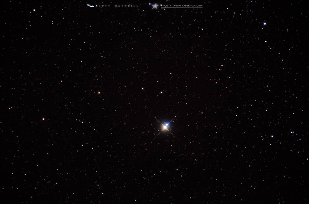 Albireo, A Rather Famous Binary Star