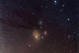 Antares and the Rho Ophiuchus Cloud Complex