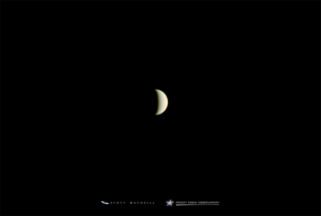 Venus Enters Wanning Crescent