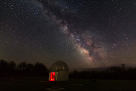 The Milky Way Returns to Frosty Drew Observatory