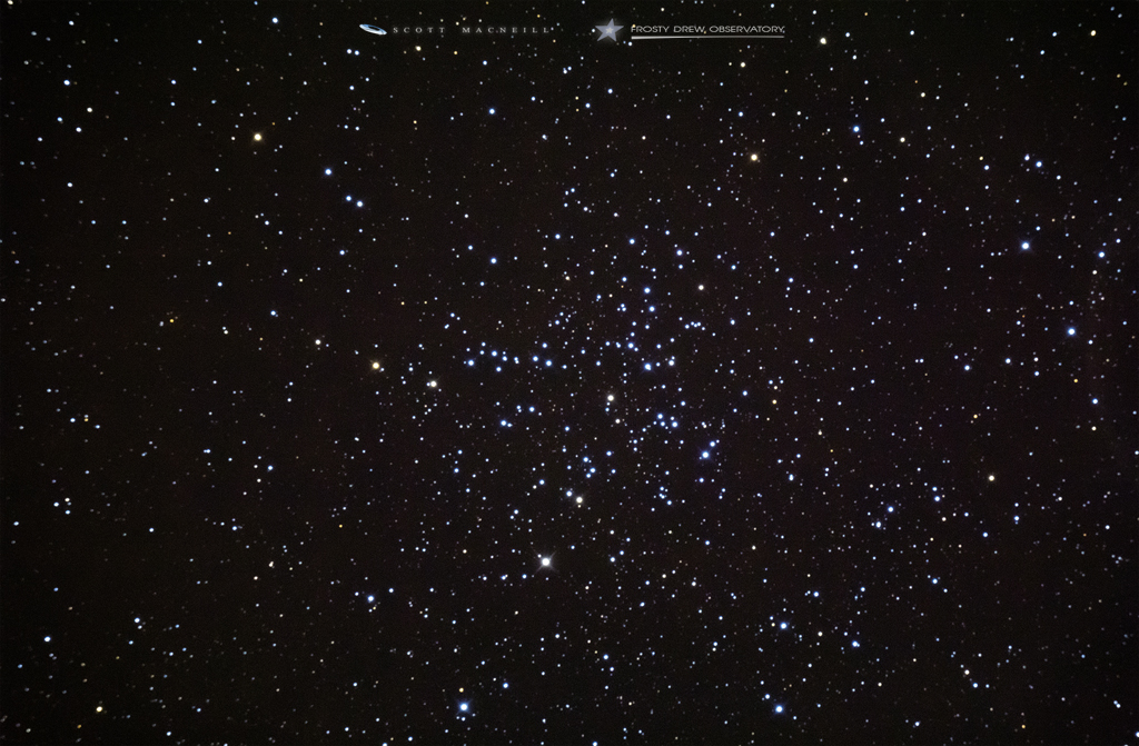 Messier 38: The Starfish Cluster