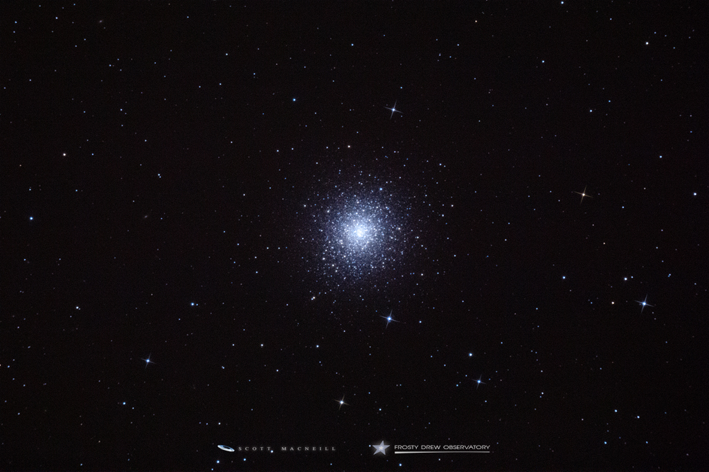 Messier 92 - The Other Hercules Cluster