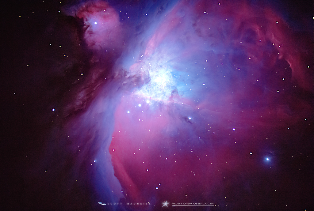 The Massive Orion Nebula