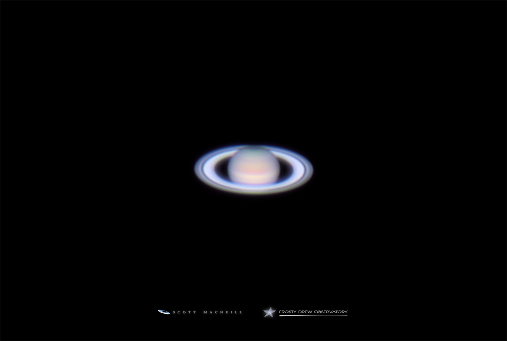 Saturn at Opposition in 2015
