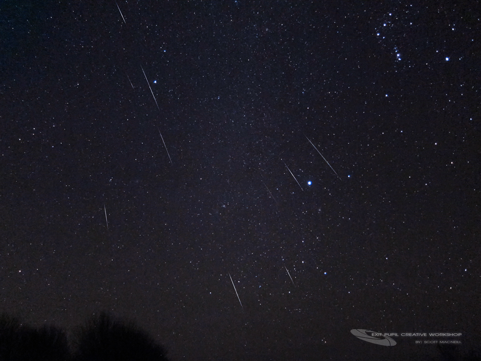 2012 Geminid Meteor Shower